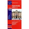 Toulouse térkép - IGN