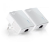 TP-Link TL-PA4010 Powerline Adapter készlet, Ethernet 500Mbps, Ultra kompakt (TL-PA4010KIT)