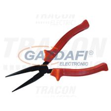 TRACON KUF-6 Kúpos fogó, normál, piros nyél L=165mm, 170g (6) villanyszerelés