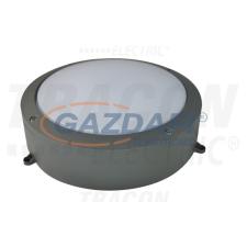 TRACON LFV40NW Védett fali LED lámpatest, porszórt, szürke 100-240 VAC; 40 W; 3000 lm; D=276 mm, 4000 K; IP65, EEI=A világítás