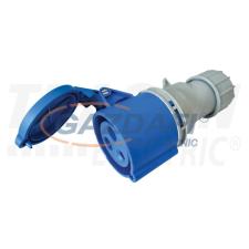 TRACON TICS-2232H Ipari csatlakozóaljzat, fokozott védelemmel 32A, 230V, 2P+E, 6h, IP67 villanyszerelés