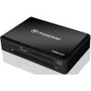 Transcend USB 3.0/2.0  Fekete kártyaolvasó+ Recovery Software