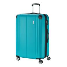TRAVELITE CITY L petrol négykerekű bővíthető karcálló nagy bőrönd