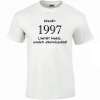 Tréfás póló 20 éves, Készült 1997...   (S)