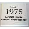 Tréfás póló 40 éves, Készült 1975...  (M méret)