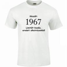 Tréfás póló 50 éves, Készült 1968... (S)