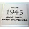 Tréfás póló 70 éves, Készült 1945...  (XXXL)