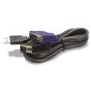 Trendnet tk-cu06 1,8m fekete kvm switch adatkábel