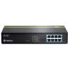 Trendnet TPE-T80 8-Port 10/100Mbps 30W PoE rack switch