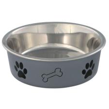 Trixie Fém Tál Műanyaggal Bevont Tappancs Mintás 0,75L/17cm kutyatál