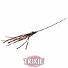 Trixie Játék macska pálca bőrrel 65cm