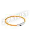 Trixie SaferLife Flash USB nyakkarika narancs XS-S 35cm
