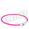 Trixie SaferLife Flash USB nyakkarika rózsaszín L-XL 65cm