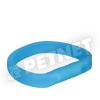 Trixie USB Flash Light Széles nyakkarika kék M-L 50cm