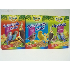 ,TRÓPUS, TRÓPUS gyümölcsös koktél 200 g papagájoknak (sárga dobozos) madáreledel