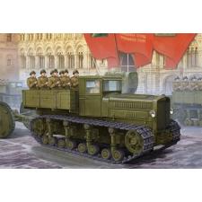 TRUMPETER Soviet Heavy Tractor Komintern makett Trumpeter 05540 makett figura