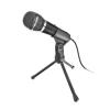 """Trust Mikrofon, asztali, 3,5 mm jack, TRUST """"Starzz"""""""