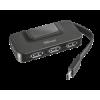 Trust Oila USB Hub, USB-C, 4port, USB2.0