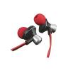 Trust ONYC In-ear (c.sz:19334; Csavarodásmentes kábel; Telefon/Tab kompatibils; mikrofon; piros)