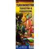 Türkmenisztán, Tadzsikisztán és Kirgizisztán térkép - ITM