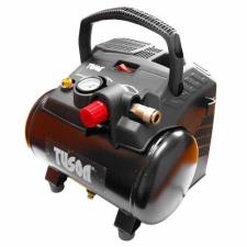 TUSON - Olajmentes kompresszor 1,1kW, 6l barkácsolás, csiszolás, rögzítés
