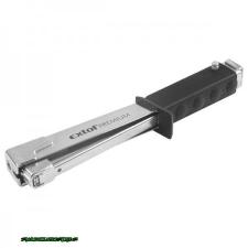 tűzőkalapács, krómozott (profi) 10,6mm; 6-10mm (10,6mm), felhasználás: tűzőgépkapocs, uszeg, szeg fejjel, fej nélkül tűzőgép