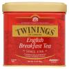 Twinings English Breakfast szálas fekete tea 100 g fémdobozban