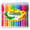 Twister Colorix 3 az 1-ben akvarellkréta 12 darabos készlet