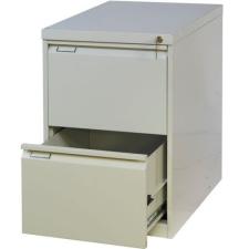 Tyne egysoros fém A4-es irattartó szekrény, 2 fiók, kék/szÜrke irattartó