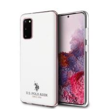 U.S. POLO ASSN. US Polo USHCS62TPUWH S20 G980 fehér fényes telefontok tok és táska