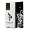 U.S. POLO ASSN. US Polo USHCS69SLHRWH S20 Ultra G988 fehér szilikon Collection telefontok