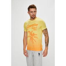 U.S. Polo - T-shirt - halványsárga - 1396662-halványsárga