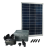 Ubbink 1351182 SolarMax 1000 Napelem, pompa és akkumulátor szett