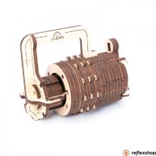 UGEARS Kombinációs zár - mechanikus modell zár és alkatrészei