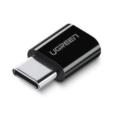 uGreen USB-C 3.1 Micro USB Adapter ABS tok Fekete telefontok hátlap tok tok és táska