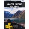 Új-Zéland: South Island Touring Atlas & Guide - Hema