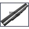 UL50Vt-XX010x 4400 mAh 8 cella fekete notebook/laptop akku/akkumulátor utángyártott