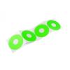 Ultimate Racing Teli felni matricák (4db) zöld
