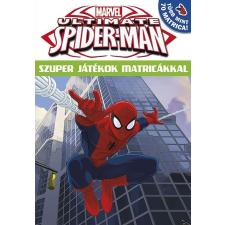 - - ULTIMATE SPIDER-MAN - SZUPER JÁTÉKOK MATRICÁKKAL 16 gyermek- és ifjúsági könyv