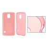 ultra vékony szilikon tok Sony Xperia M2 - átlátszó rózsaszín