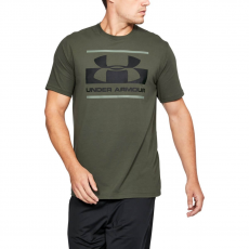 Under Armour Póló Blocked Sportstyle Logo Green XL