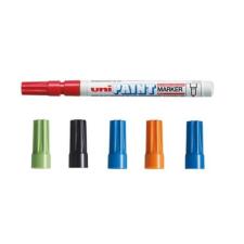 UNI Lakkmarker UNI PX-21 0,8-1,2mm sárga filctoll, marker