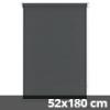 UNI Trend vászon roló, szürke, ablakra: 52x180 cm