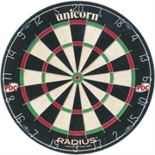 Unicorn Sizal Darts tábla Radius darts tábla