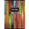 """UNIPAP Spirálfüzet, A4, kockás, 80 lap,  """"Color"""""""