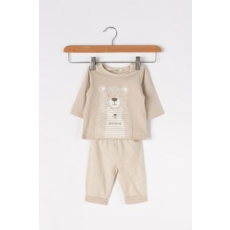 United Colors of Benetton , Mintás pizsama, homokbarna, 6-9M Standard (3ZK6MM1WM-3D1-68)