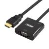 Unitek Adapter HDMI - VGA + audio, Y-6333