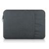 """Univerzális laptop táska, 11""""-os készülékhez, nagy oldal zseb, bújtatós, Iralan, sötétszürke"""