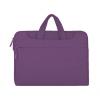 """Univerzális laptop táska, 13""""-os készülékhez, hosszú oldal zseb, vállpánttal, Iralan, lila"""