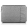 """Univerzális laptop táska, 13""""-os készülékhez, nagy oldal zseb, bújtatós, Iralan, szürke"""